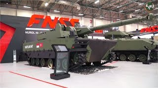 FNSS wheeled tracked armored PARS Kaplan MT Teber ACV 15 AV8 AACE Turkey defense industry IDEF 2017