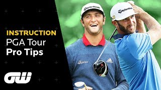 How to Chip Like Rahm and Drive Like Dustin! | PGA Tour Pros Give Their Top Tips | Golfing World