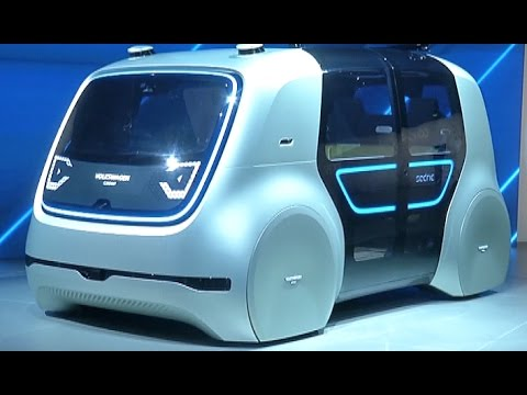 Auto Shanghai 2017 Showcases Electric and Self driving Cars