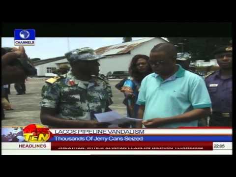 Joint Team Of Navy, Army Raid Vandals Hideout In Ikorodu