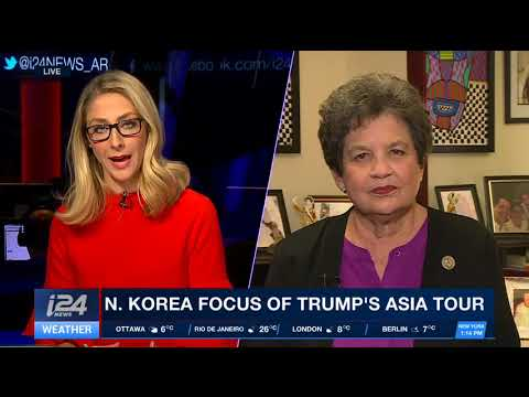 Florida Congresswoman Lois Frankel (Dem.) speaks with i24NEWS on N. Korea, Trump, Israel & Iran