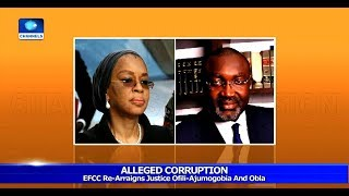 Alleged Corruption: Justice Ofili Ajumogobia, Obla Re-Arraigned 15/05/19 Pt.1 |News@10|