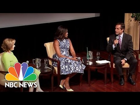Michelle Obama, Laura Bush Discuss Support For US Troops, Veterans | NBC News