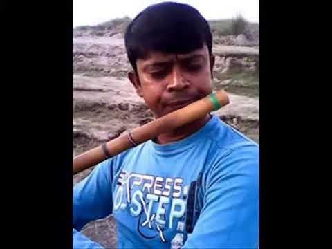 Bedona modhur hoye jai by flute palash