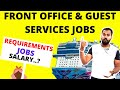 Front Office Jobs in Cruise Ships | Guest services Jobs in Cruise Ships