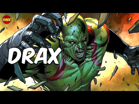Who is Marvels Drax The Destroyer? Created to HUNT Thanos