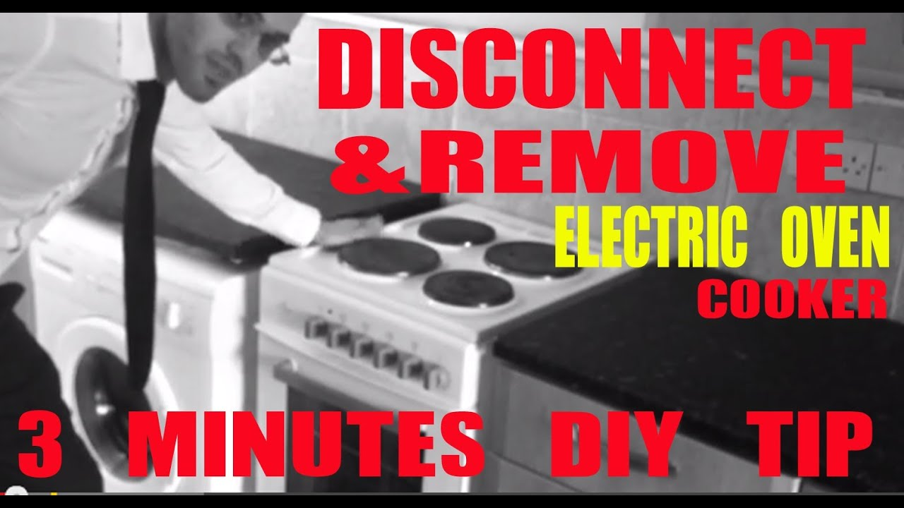 Diy Tips How To Remove Disconnect An Electric Oven Cooker Stove Plug Wiring South Africa Youtube Premium