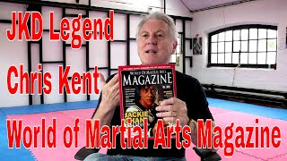JKD Legend Chris Kent World of Martial Arts Magazine