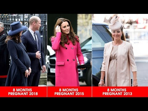 Why does Kate's bump look BIGGER with her third pregnancy