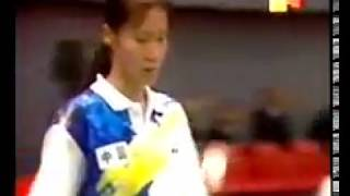 1995 Sudirman Cup Final - Ge Fei and Gu Jun