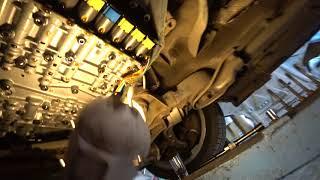 Замена масла в АКПП Audi ZF 6HP19A