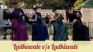 Radha | Iski Uski | Ladkewale v/s Ladkiwale | Wedding Choreography | M&M's