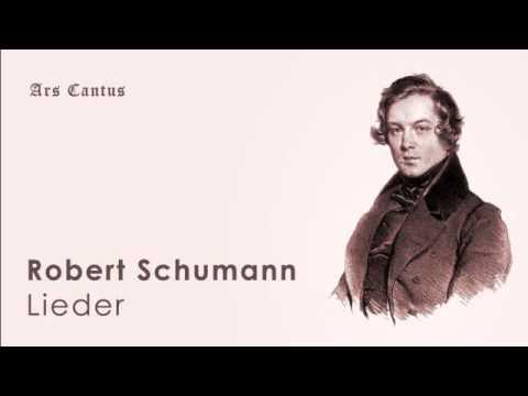 Schumann   op  35 no  1, Lust der Sturmnacht; Dietrich Fischer Dieskau, bariton