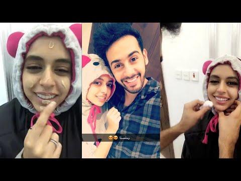 حسين بن محفوظ يمكيج زوجته حنان فقرة الميك اب ارتست Youtube