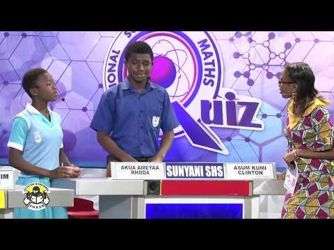 NSMQ2016: West Africa SHS- Sunyani SHS- Assin Manso SHS