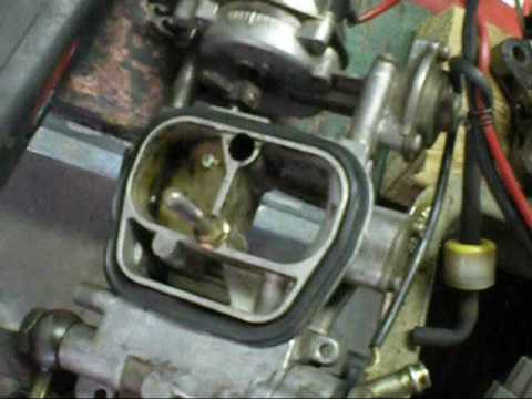 Fix Carburettor In 1988 Toyota Youtube