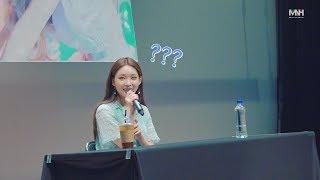 [N달 전 오늘] 청하 Love U 막방 미니 팬미팅 현장 스케치
