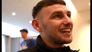 'I WAS IN & OUT LIKE AN ARMED ROBBER' - SEAN McCOMB REACTS TO SENSATIONAL U.S DEBUT WITH KO WIN