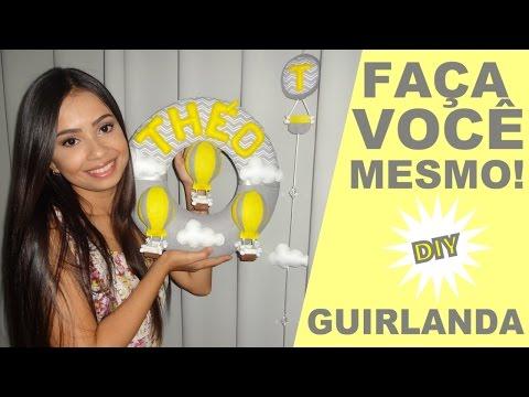 DIY - Guirlanda Slim! Faça você mesmo!