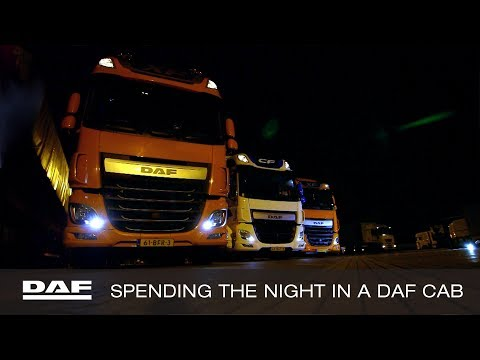 DAF Trucks UK | Spending the Night in a DAF Cab | DAF Champions Tour