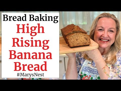 How to Make Banana Bread with Step by Step Instructions for Beginners – Easy Banana Bread Recipe