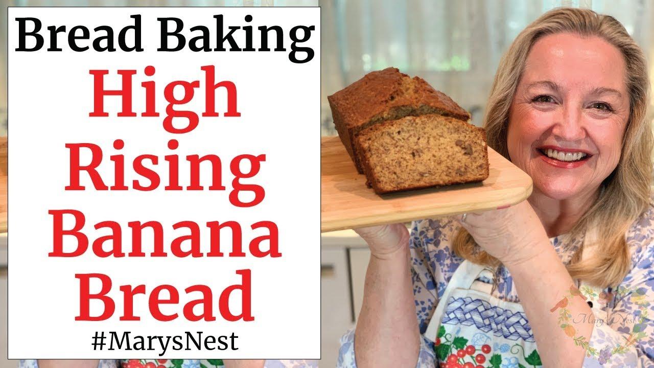Step By Step Easy Banana Bread Recipe