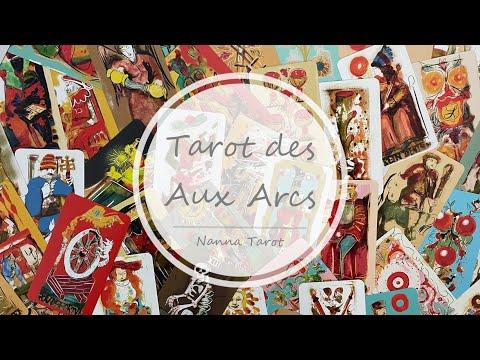 開箱  法國古藝塔羅牌 • Tarot des Aux Arcs // Nanna Tarot