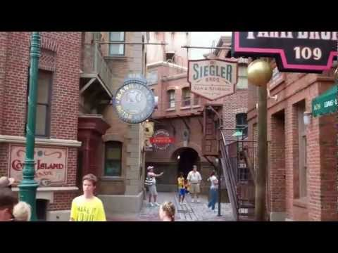 New York City Area - Universal Studios Orlando Walk Through/ Tour 2011 HD