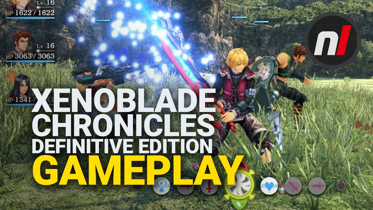 Νέο gameplay video για το Xenoblade Chronicles: Definitive Edition