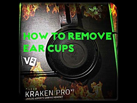 Razer Kraken Pro V2 How To: Remove Earcups