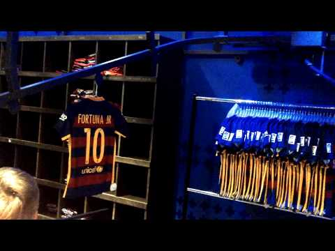 FC BARCELONA PRINTING SHOP @ CAMP NOU FORTUNA JR
