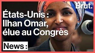 Ilhan Omar, l'une des premières femmes musulmanes élues au Congrès américain