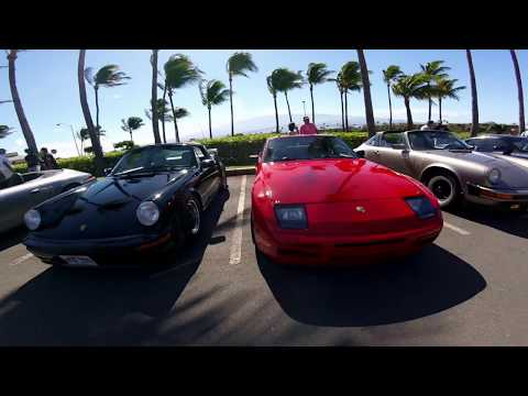 I went for a ride with the Maui Porsche Club. (GOPRO SESSION 4)