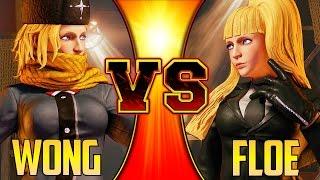 SFV S2 ▰ Justin Wong Vs Floe【Kolin Mirror Match】Street Fighter V / 5 スト