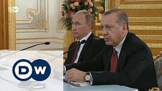 Был враг, стал друг: что еще недавно говорил Путин об Эрдогане
