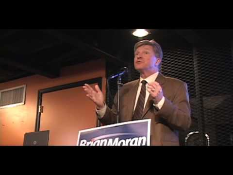 Brian Moran Speaks in Harrisonburg