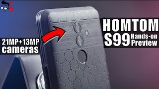 HOMTOM S99 Preview: It Looks Very Good! 6200mAh Battery & 21MP camera