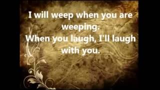 The Servant Song with Lyrics