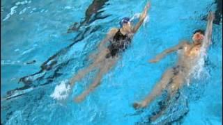 Обучение Детей Плаванию Кролем на Спине