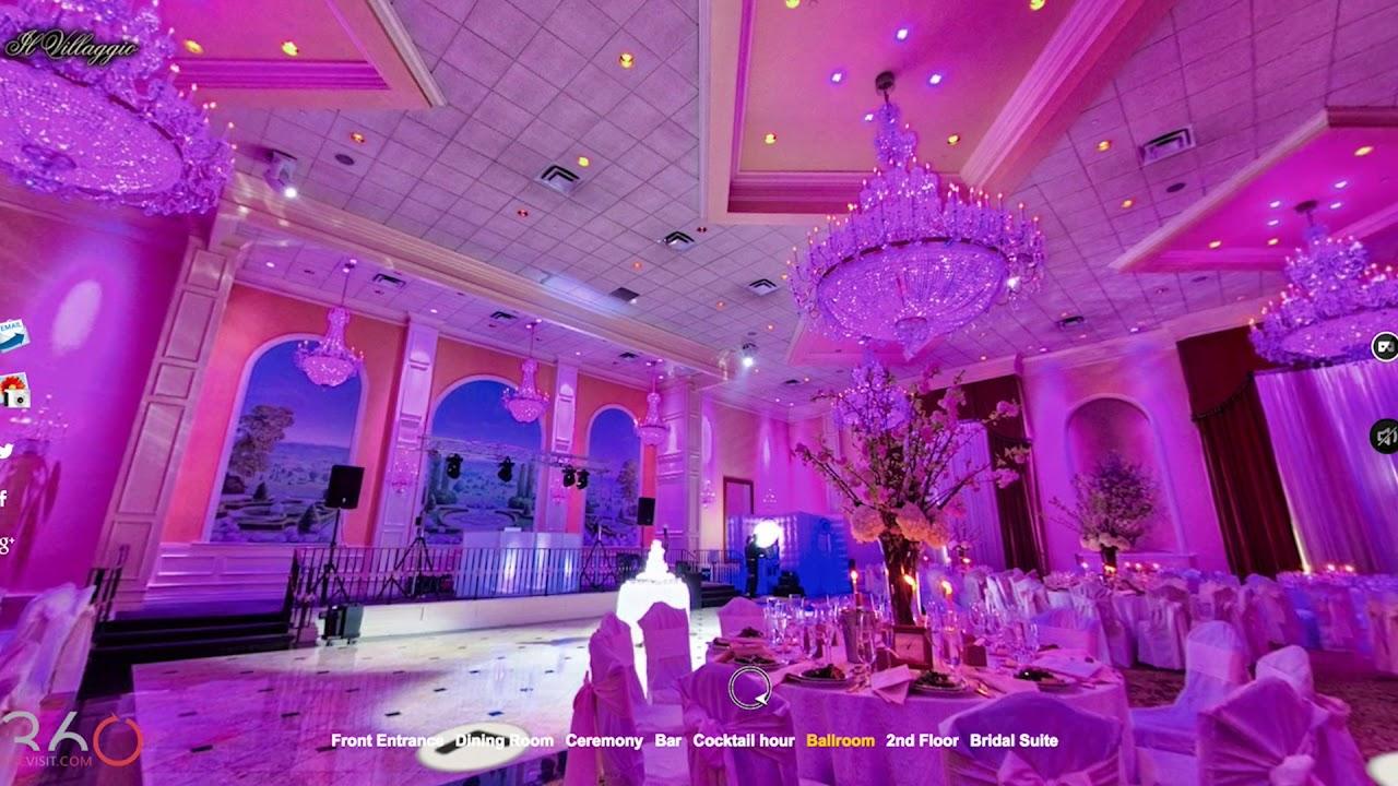 Wedding Venues Nj Virtual Tours Il Villaggio