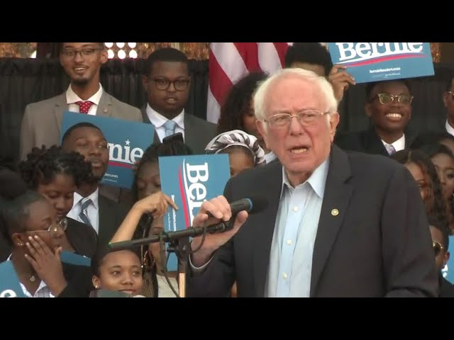Bernie Sanders @ Morehouse College