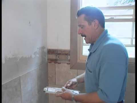 Wainscoting with The Tile Doctor