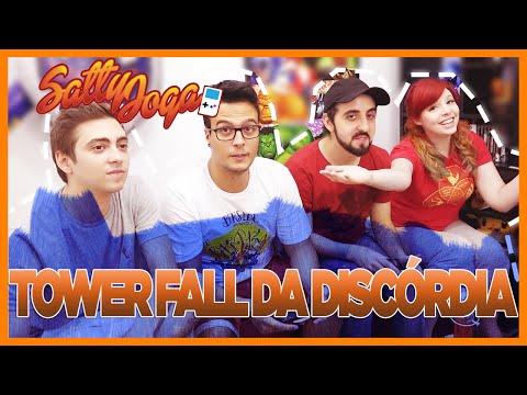 TOWERFALL DA DISCÓRDIA | Satty Joga feat. Alanzoka, Damiani e Zelune