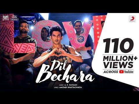 Dil Bechara Title Track | Sushant Singh Rajput, Sanjana Sanghi | A.R. Rahman