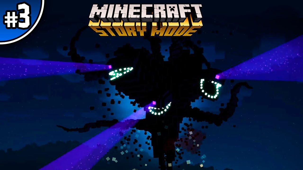 7d8c5c346e87 MINECRAFT STORY MODE  3 CAP. 1 - WHITER BOSS GIGANTESCO!!! - YouTube