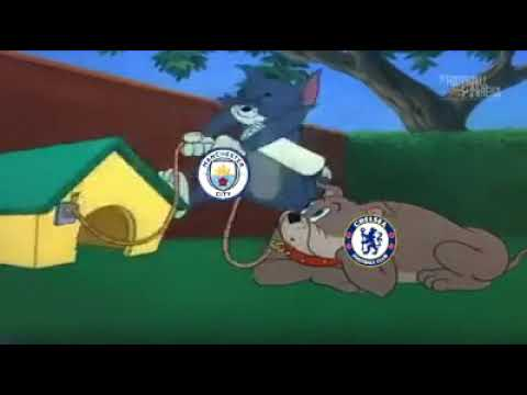 Chelsea vs Manchester City 0-6 | Tom and Jerry Version Meme