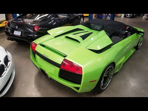 Lamborghini Murchialago LP640 Bat wing fix | Diagnostic DIY