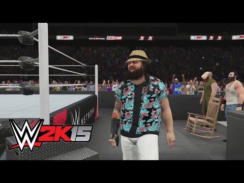 WWE 2K15 - The Wyatt Family entrance video