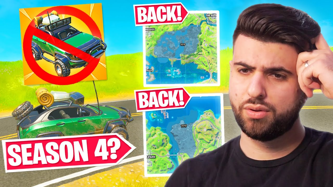 Cars are DELAYED... but POI's are FINALLY Back! (New Fortnite Update)