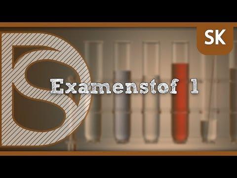 Examen scheikunde - Alle examenstof (Deel 1)